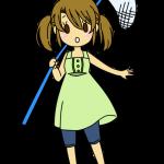 虫取り少女1