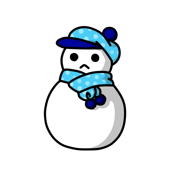 雪だるま06