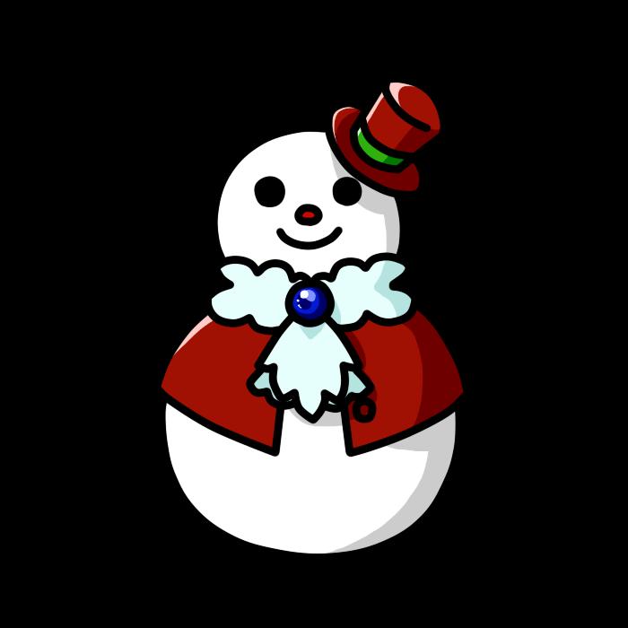 雪だるま07