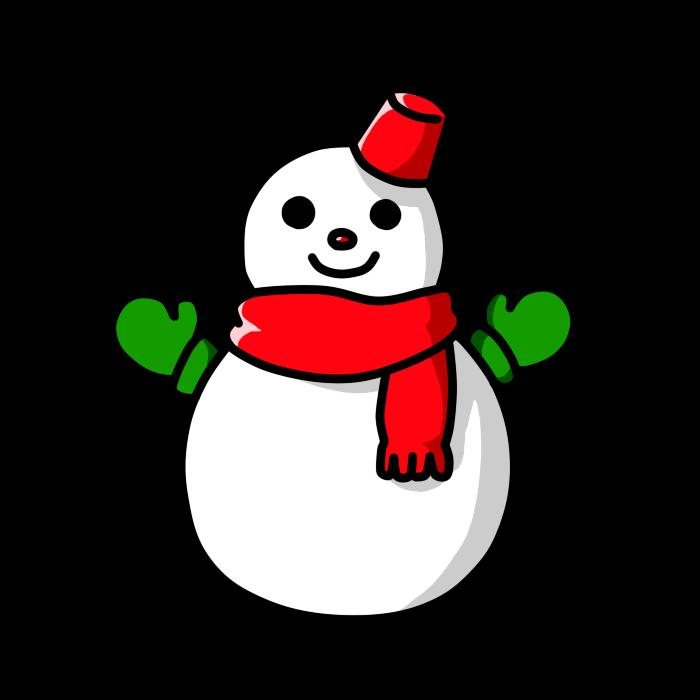 雪だるま08