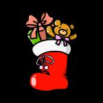 クリスマスくつ下01