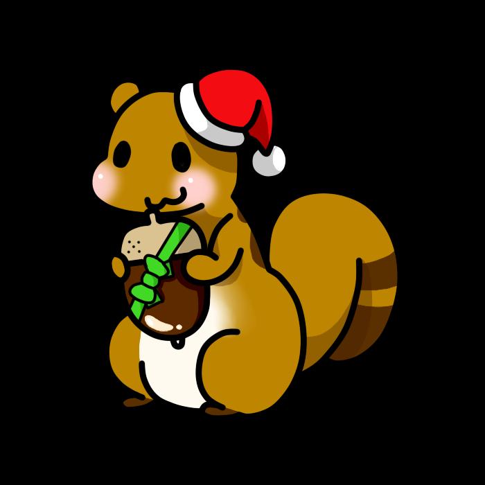 クリスマスりす01