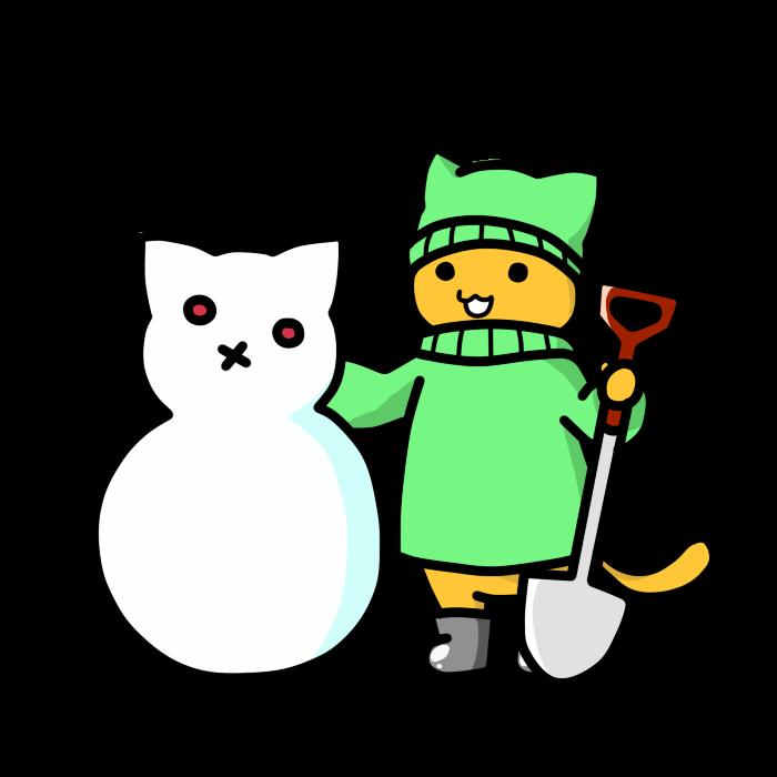 雪だるま作り02